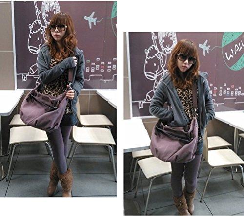 Woman Handbags Canvas with Leather trim Oversized Hobo Shoulder Weekender Crossbody Bag Messenger bag Backpack Rucksack Bookbag F