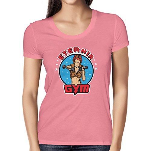 Texlab Lady Fitness Gym - Damen T-Shirt, Größe M, Pink