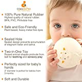 Pure Natural Rubber Teether Sensory Ball Toy