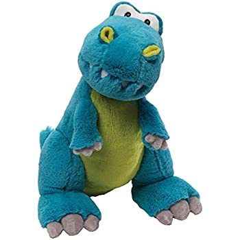 Amazon Com Gund Rexie T Rex Dinosaur Stuffed Animal Plush Blue