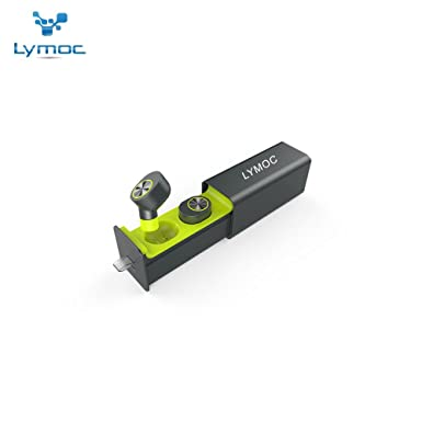 3e615a6f067 LYMOC GW10 True TWS Wireless Earphone Mini Bluetooth Headset Drawer style Charger  Box V4.2