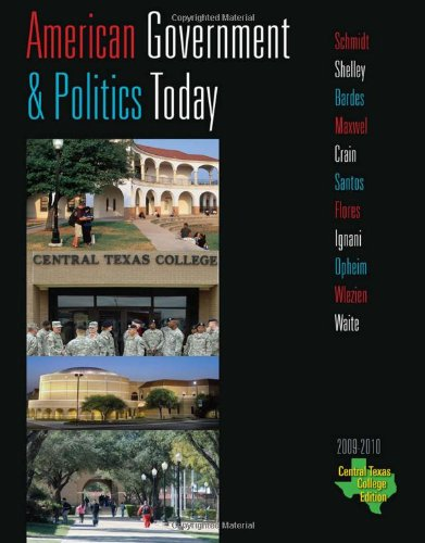 Central Texas College American Government