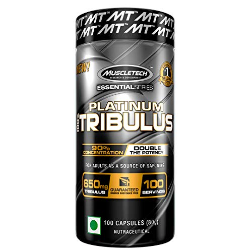 - MuscleTech Essential Series 100%, Tribulus, 100 Count