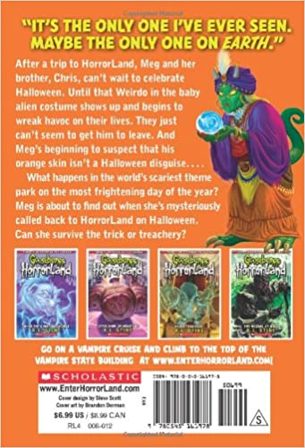 Weirdo Halloween (Goosebumps Horrorland #16): R.L. Stine ...