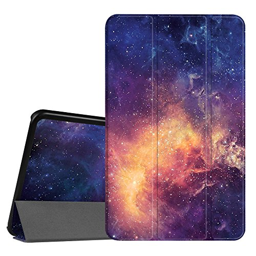 Fintie Slim Shell Case for Samsung Galaxy Tab A 10.1, Super Slim Lightweight Standing Cover with Auto Sleep/Wake Feature for Tab A 10.1 Inch (NO S Pen Version SM-T580/T585/T587) Tablet, Galaxy