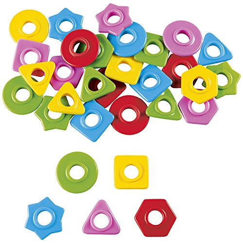 Nathan Sorting Beads for Young Children - 5 Colours