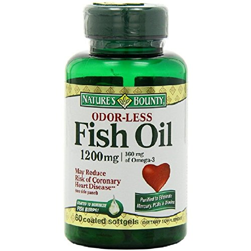 Upc 74312168871 nature 39 s bounty odorless fish oil 1200 mg for Odorless fish oil