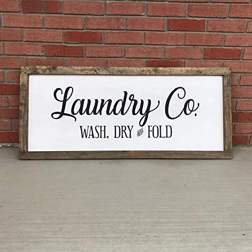 istihar Laundry Co - Señal de lavandería con Texto en inglés ...