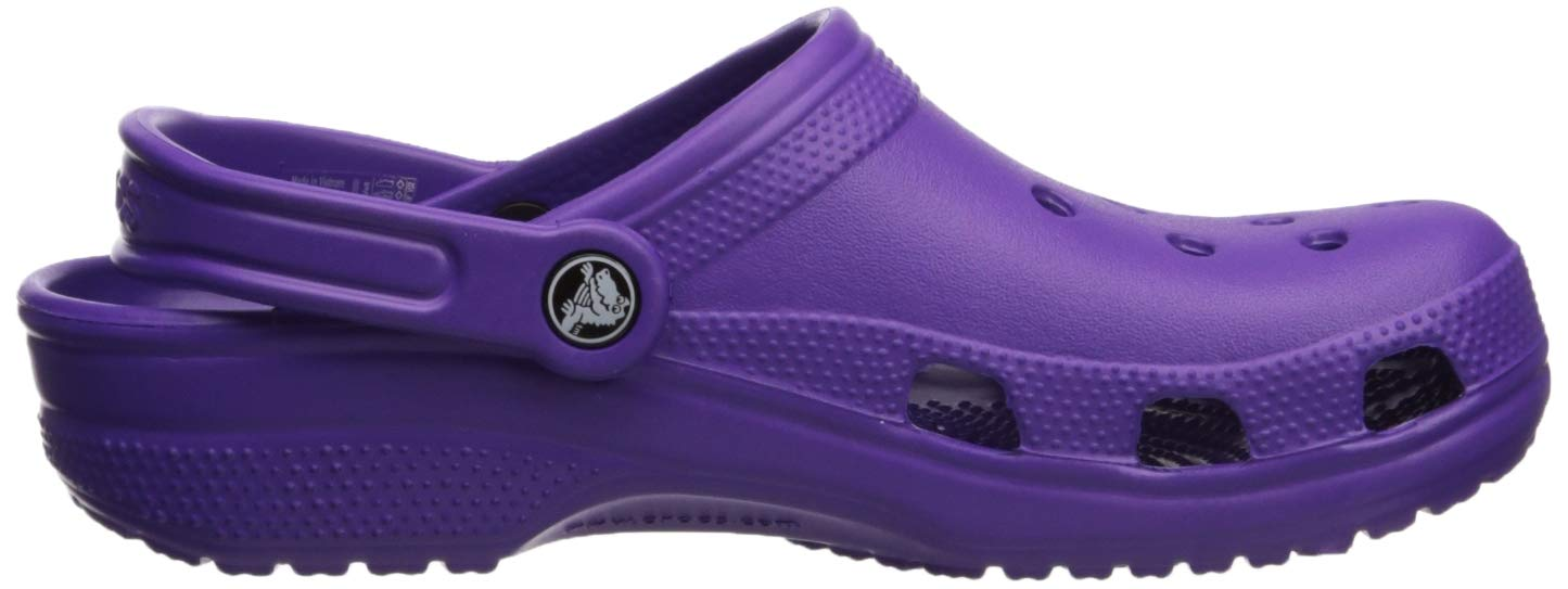 Crocs Classic Clog Adults, neon Purple 11 M US Women / 9 M US Men by Crocs (Image #7)