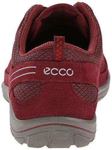 Ecco ECCO ARIZONA - Zapatillas De Deporte Para Exterior de piel mujer Rojo (MORILLO/PETAL TRIM59273)