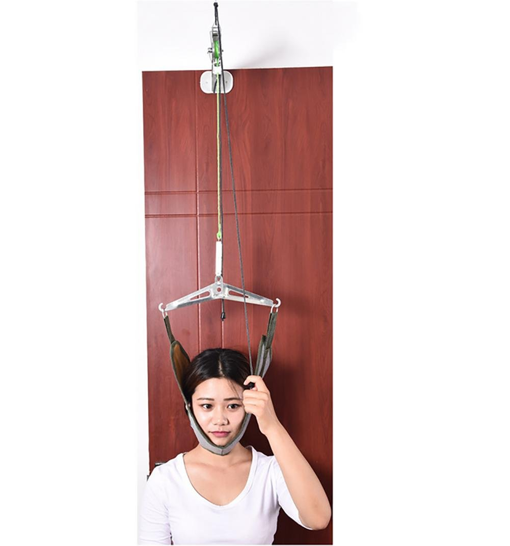Cervical traction LIU Device, Over The Door Neck Traction Device, Pain Relief, Headaches Natural Physical Therapy