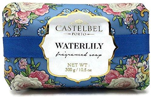 Pure Vegetable Soap Water Lily - Castelbel Porto Waterlily Luxury Soap Bar 10.5 oz