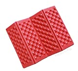 Portable Folding Waterproof Mat Seat for Outdoor Sport Camping Picnic Set Pads Cushion 6 Color (Red)