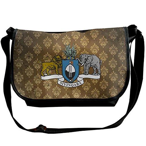 Lov6eoorheeb Unisex Coat Of Arms Of Swaziland Wide Diagonal Shoulder Bag Adjustable Shoulder Tote Bag Single Shoulder Backpack For Work,School,Daily by Lov6eoorheeb (Image #5)