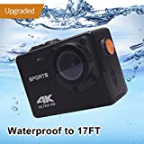 Underwater 4K WIFI Sports Action Camera