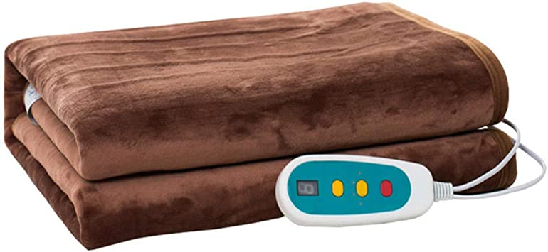 Manta Eléctrica de Termostato de Temporización Manta de Rodilla de Calefacción de Oficina [24V] Manta Multiuso de 80 × 150 Cm: Amazon.es: Salud y cuidado personal