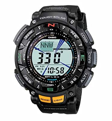 Casio Pathfinder Solar Triple Sensor Watch from Casio