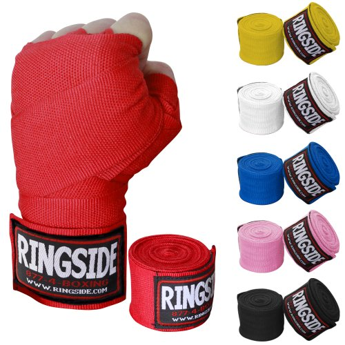 "Ringside Mexican-Style 180"" Handwraps for Boxing Kickboxing MMA Muay Thai (Pair)"