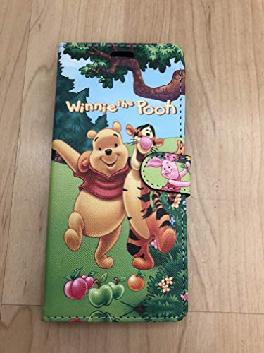 Winnie The Pooh Flip Stand Leather Wallet Case For Samsung Galaxy Note 9 Ship From NY 1