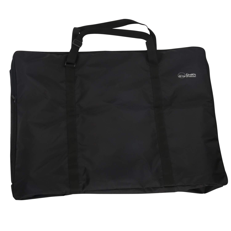 Travel Bag for Rollator Walker - Rollator Travel Bag - for Folding Walkers Compact Wheelchair Transport Chair Folding Walker Bag Portable Extra - Large Carry Bag Nylon Walker Bag OneSize Black by TOMMHANES AMISGUOER