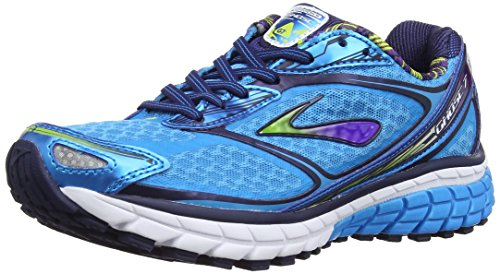 7 Lime Hawaiian Blue Punch Bleu Eclipse Running Ghost Chaussures Femme de Brooks wpa57q1x