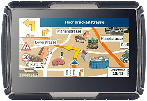 NavGear TourMate N4, Motorrad-, Kfz- & Outdoor-Navi mit Deutschland