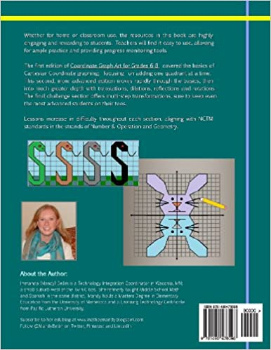 Amazon.com: Advanced Coordinate Graph Art for Grades 6-8 ...