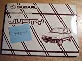 1989 Subaru Justy Owners Manual