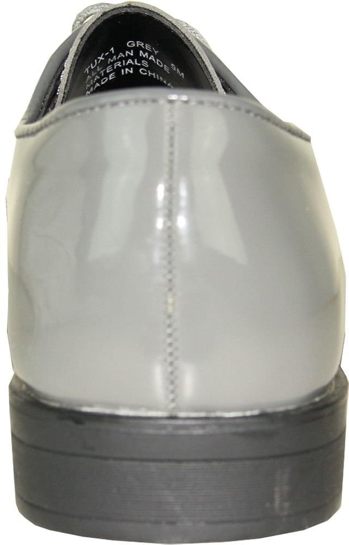 VANGELO - Zapatos de cordones de Material Sintético para hombre, color blanco, talla 41 1/2 EU M