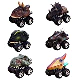 GZCY Gifts Toys for 2-9 Year Old Boys, Pull Back Dinosour Cars