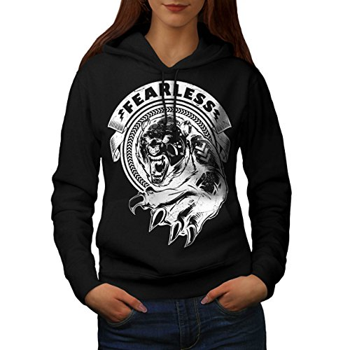[Fearless Wild Animal Tiger Bear Women S Hoodie | Wellcoda] (Bear Jew Costume)