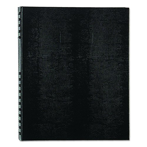 Notepro Notebook - Blueline NotePro Notebook, Black, 11 x 8.5 inches, 300 Pages (A10300.BLK)