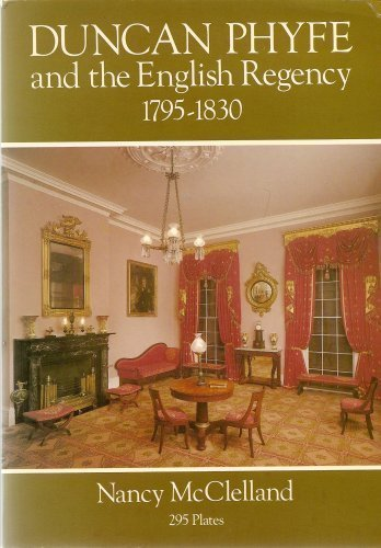 Duncan Phyfe and the English Regency, 1795-1830 - Regency Style Furniture
