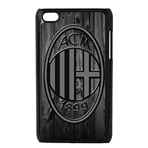 AC Milan for Ipod Touch 4 Cell Phone Case & Custom Phone Case Cover R18A651468