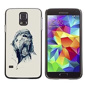 LECELL--Funda protectora / Cubierta / Piel For Samsung Galaxy S5 SM-G900 -- Oh Snap Love Heart Polka Dot --