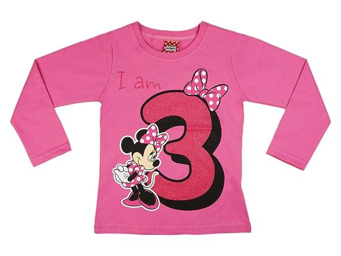 Figur Wei/ß wei/ß 8 Jahre Disney M/ädchen Langarmshirt