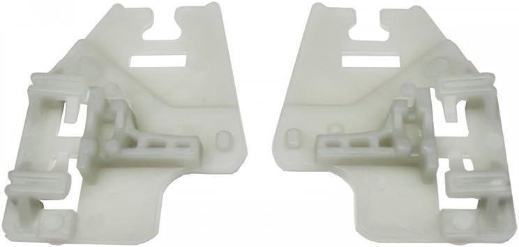 1/x Set Elevalunas Juego de reparaci/ón deslizante unidades derecha parte delantera izquierda