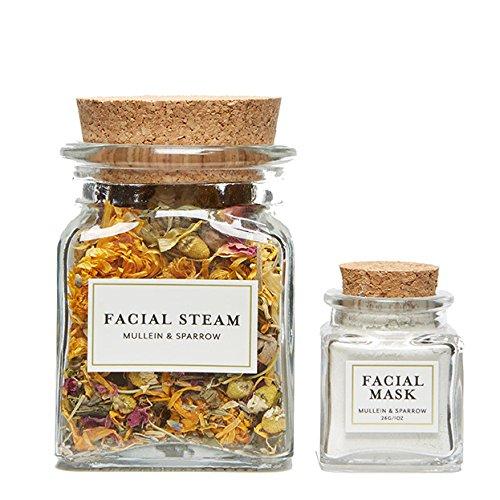 Mullein & Sparrow Facial Detox Kit - Organic Herbs, Natur...