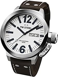 TW Steel Men's CE1005 CEO White Dial Watch