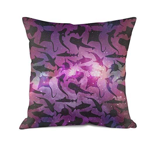 Heertty Throw Pillow Covers Great White Shark Tours  Sofa Cu
