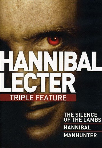 Hannibal Lecter Triple Feature (Silence of the Lambs / Hannibal / Manhunter)