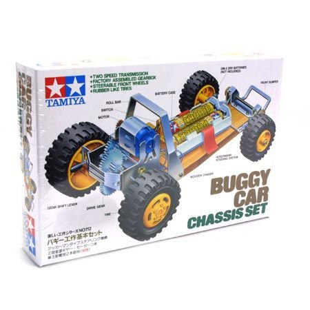 Tamiya America, Inc Buggy Car Chassis Set, TAM70112 Buggy Car Chassis Set