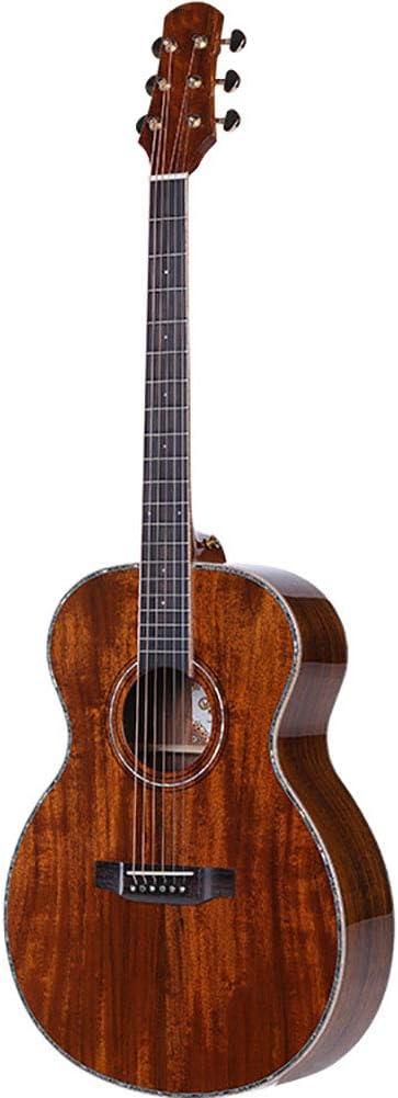 NUYI De Gama Alta De 41 Pulgadas Guitarra Acústica Tocar La Guitarra