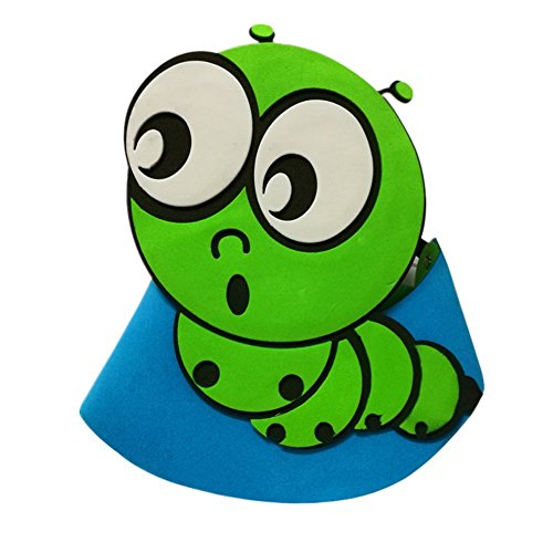 Remeehi Halloween Hat Fancy Dress Party Costume Cap Party Decor for Kids Adult Dress Up Party Halloween Costume Head Accessory TOP Hat Caterpillar