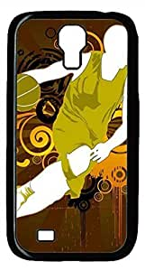 Samsung Galaxy S4 I9500 Black Hard Case - Basketball Players Galaxy S4 Cases