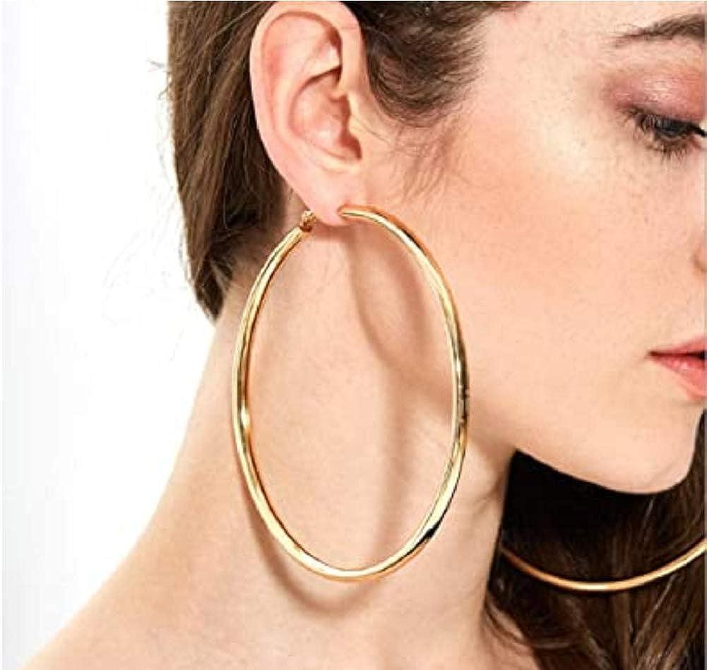 Extra Large Hoop earrings Big Gold Hoop Earrings 4 inch Hoop Earrings Oversize Hoop Earrings Silver Hoop Earrings Small Hoop Earrings