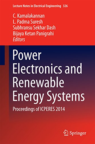 Power Electronics and Renewable Energy Systems: Proceedings of ICPERES 2014 (Lecture Notes in Electrical Engineering) Pdf