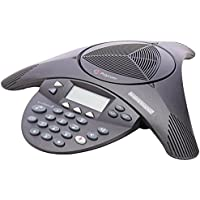 Polycom SoundStation 2 Non Expandable Analog Conference Phone (Certified Refurbished)
