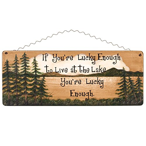 Ohio Wholesale Lucky Lake Sign