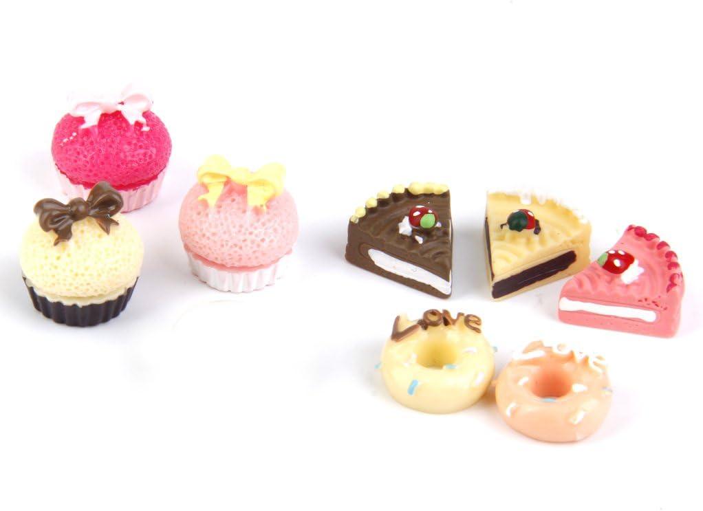 Miniatur Acryl Kuchenplatte Tortenplatte für 1//12 Puppenhaus Esszimmer Deko